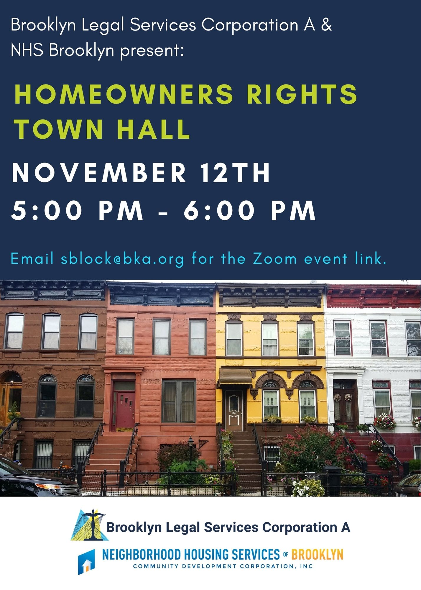 Town Hall: Homeowners' Rights – November 12th, 2020 At 5 Pm