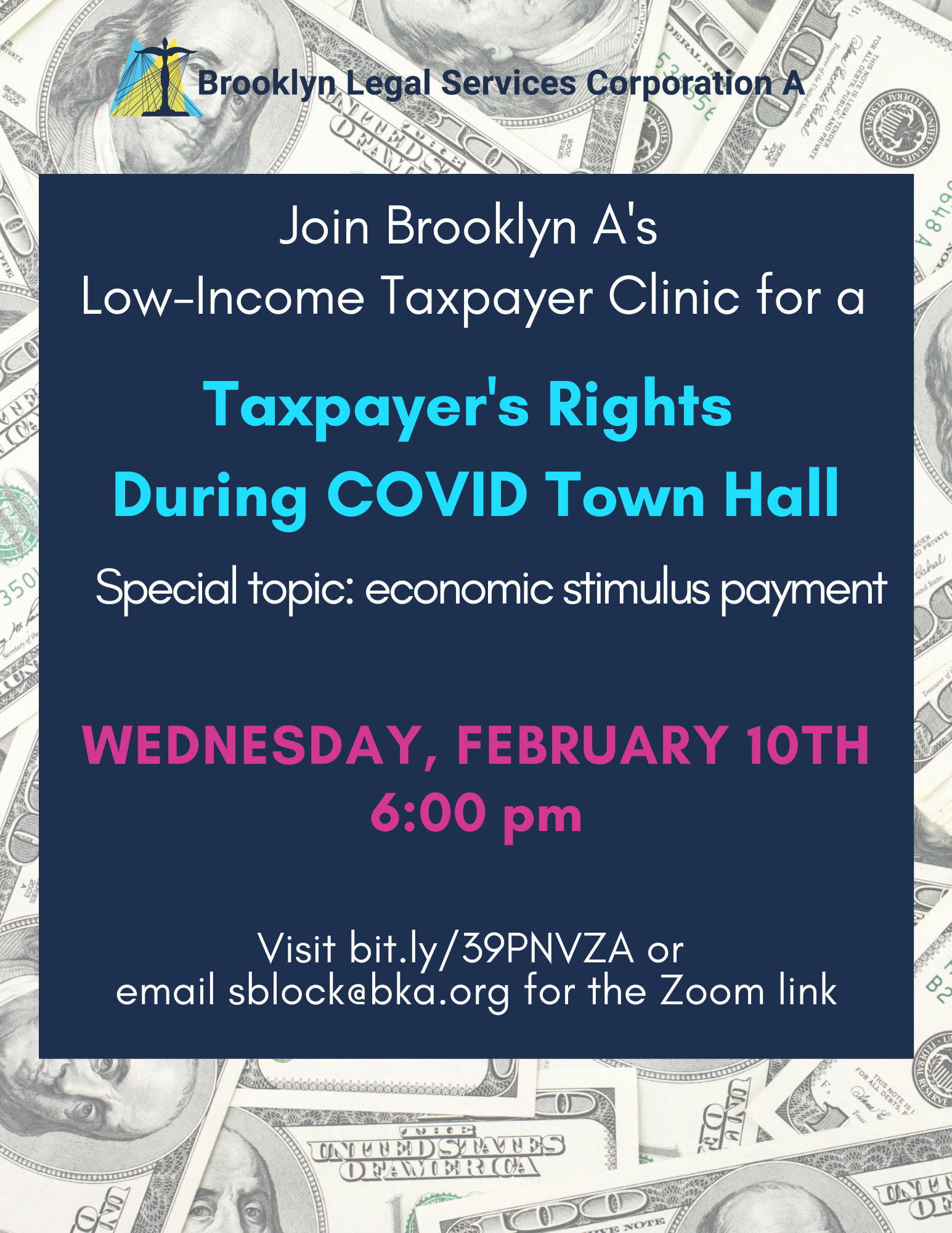 Town Hall: February 10th At 6pm – Taxpayers Rights During COVID