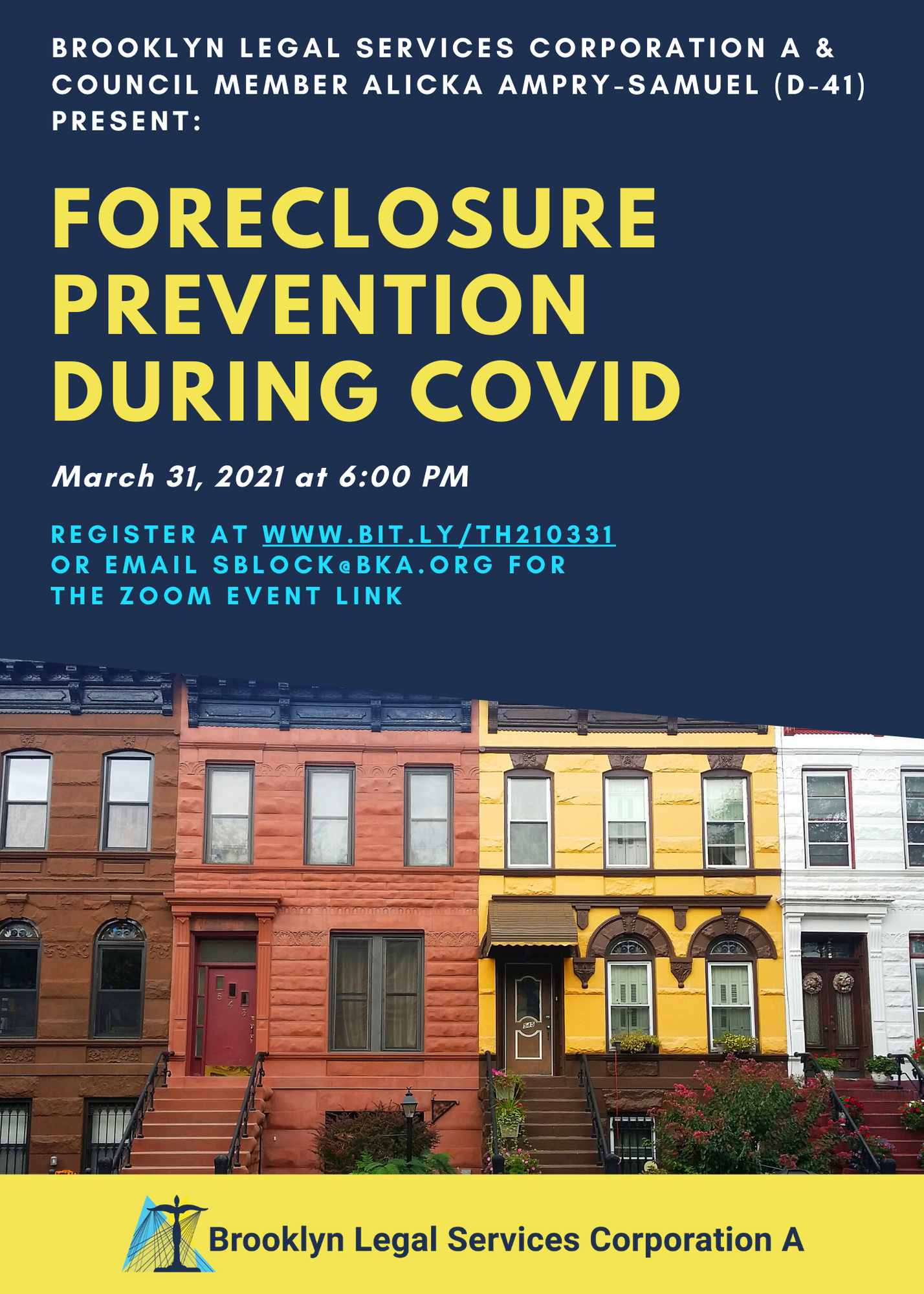 Foreclosure Prevention Virtual Town Hall