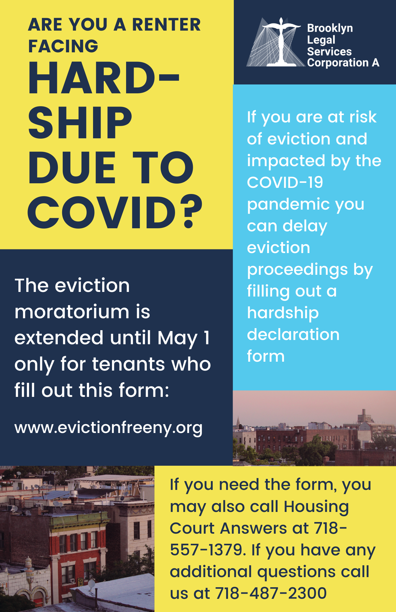 Know Your Rights! Tenant Hardship Declaration