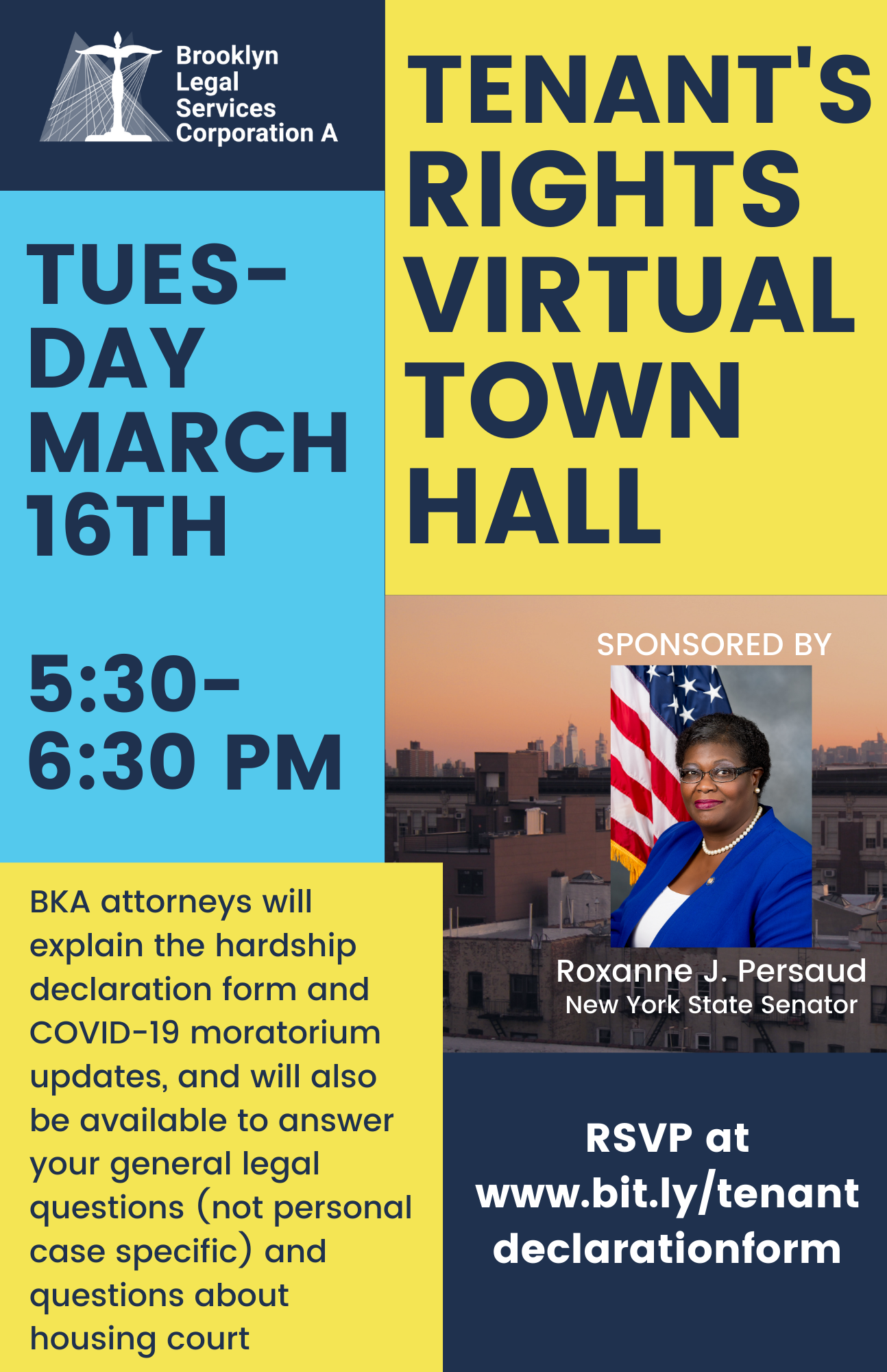 Town Hall: March 16 At 5:30pm – Tenants Rights