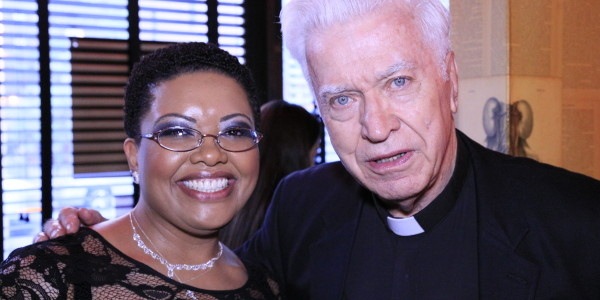 Gloria and Father Mahoney